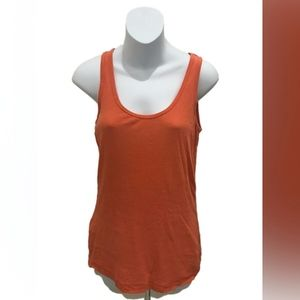 Tommy Bahama Womens Orange Basic Tank Top